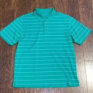 Men's Nike Golf Striped Polo Sz Medium
